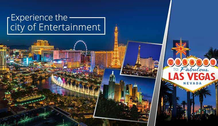 Experience the city of Entertainment